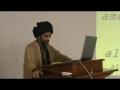 [1 of 2] Imamat & Walayat - H.I. Syed Abbas Ayleya - Atlanta - English