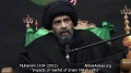 [09] Muharram 1434 - Impacts of Marifat of Imam Mahdi (atfs) - H.I. Syed Abbas Ayleya - English